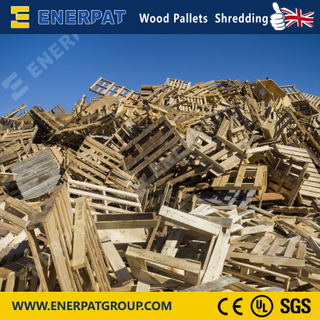 Economy Wood Pallet Single Shaft Shredder