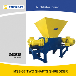 Universal High Efficiency Aluminum Extrusion Two Shaft Shredder for Sale