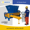 Universal Scrap Metal Baler Manufacturer for UBCs