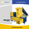 Universal Economic Rice Husk Bagging Press Baler Machine for Sale