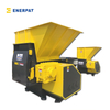 High Efficiency Single Shaft Shredder for Aluminum Swarf