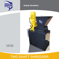 High Efficiency Double Shaft Shredder Machine for Hard Drive