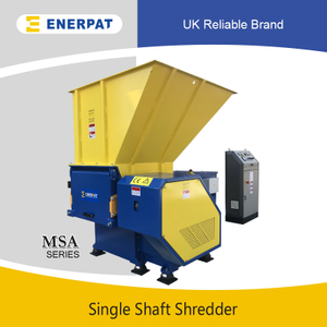 Commercial Single Shaft Shredder for Hard Plastic
