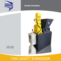 High Quality Hospital Garbage Double Shaft Shredder for Sale