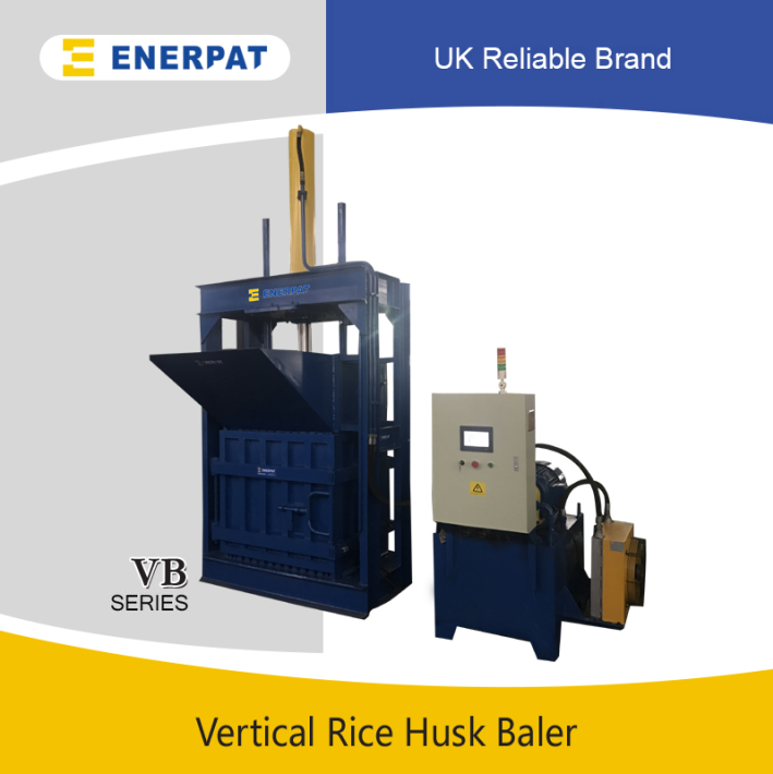 Vertical Rice Hull Baler