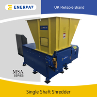 Economic Single Shaft Shredder for Lumps