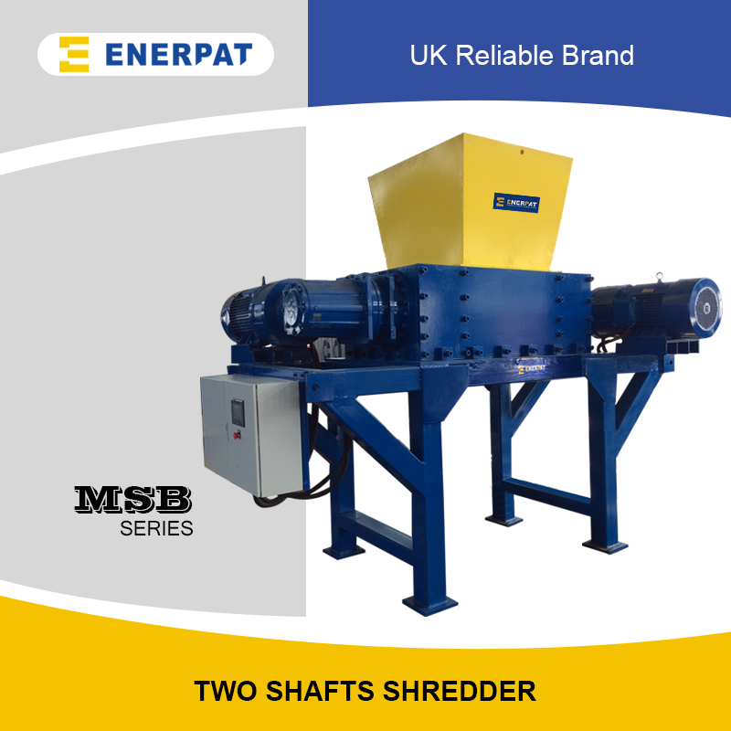 Industrial Two Shafts Shredder (MSB-E60)