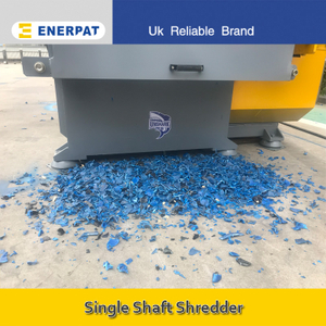 Economic Single Shaft Shredder Manufacturer for Plastic Drum