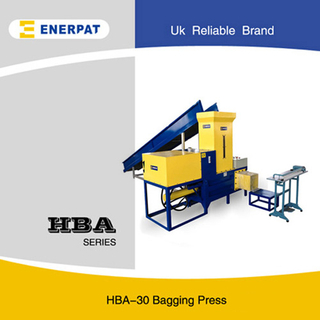 High Efficiency Bagging Press Baler Machine for Alfalfa