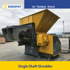 Economic Single Shaft Shredder for Plastic Block