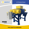 High Quality Commercial Two Shaft Shredder for Non Ferrous Scrap Metal