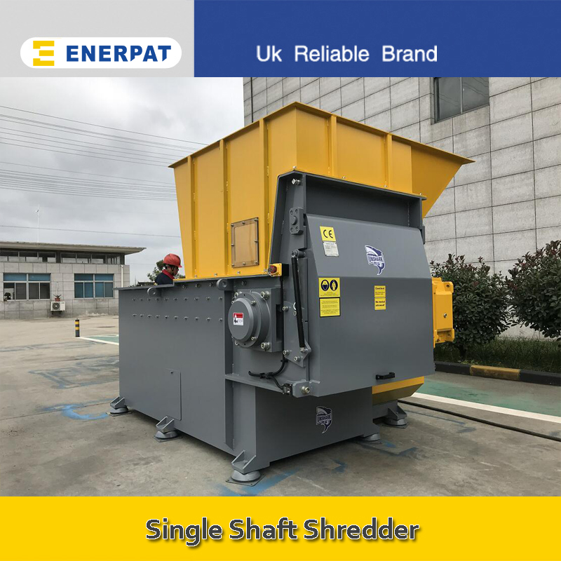 Economic Single Shaft Shredder Manufacturer for Pulper Waste Chord (F1500)