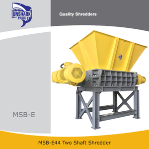 Industrial MSW Shredder Two Shaft Shredder