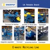 High Efficient And Environmental Friendly E-waste Shredder Line