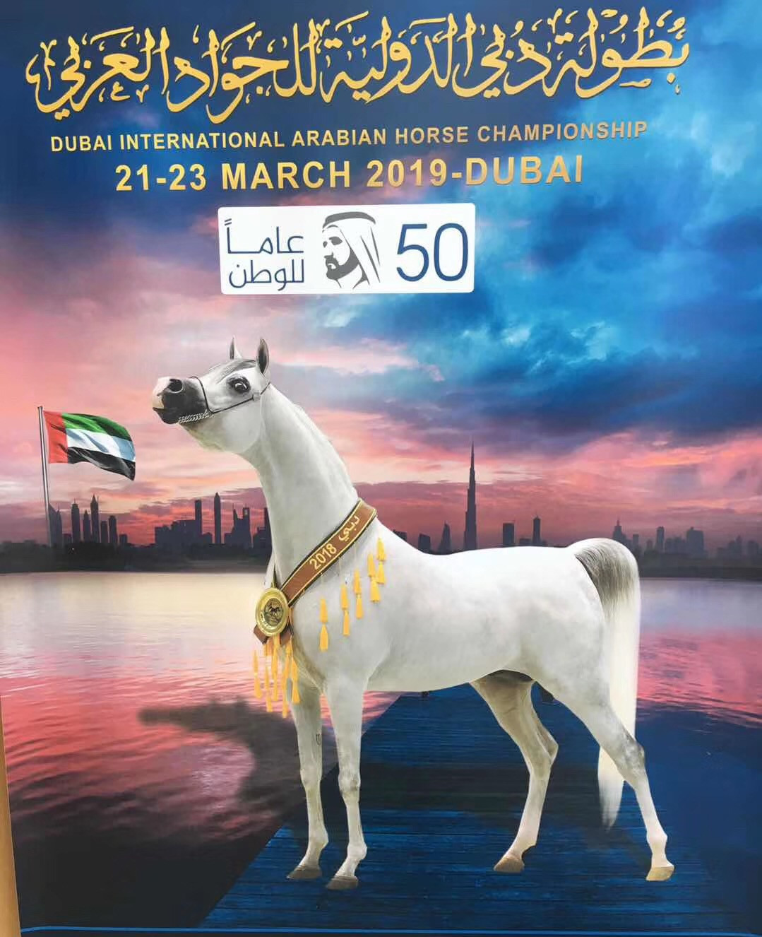ENERPAT IN DUBAI INTERNATIONAL ARABIAN HORSE CHAMPIONSHIP (21-23 MARCH 2019)