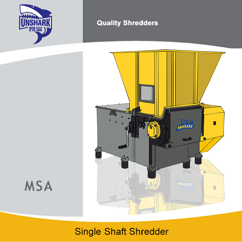 Several advantages of single shaft shredder