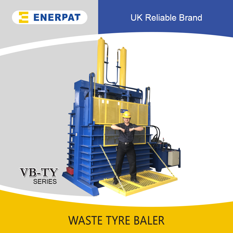 Waste Tire Baler