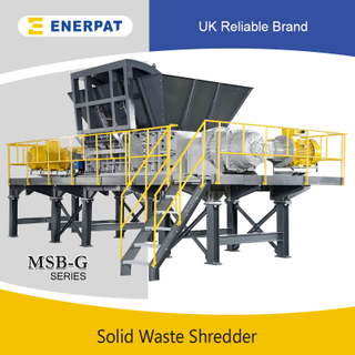 Commercial Aluminum Extrusion Two Shaft Shredder for Sale